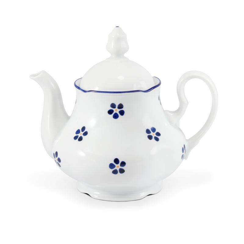 Konvice čajová 1,20 l Modrohrátky ze zahrádky