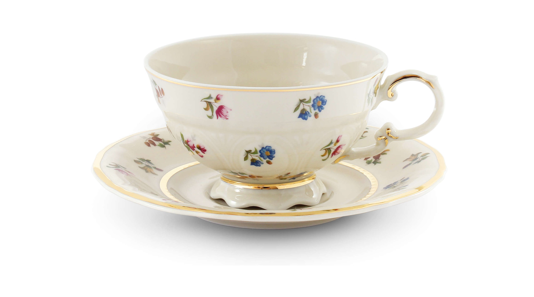 Cup and saucer Floral celebration