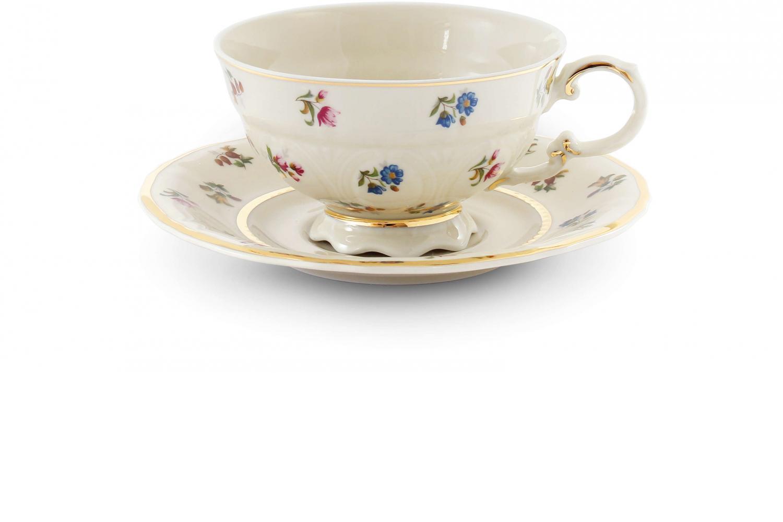 Tasse mit Untertasse Blumenfest