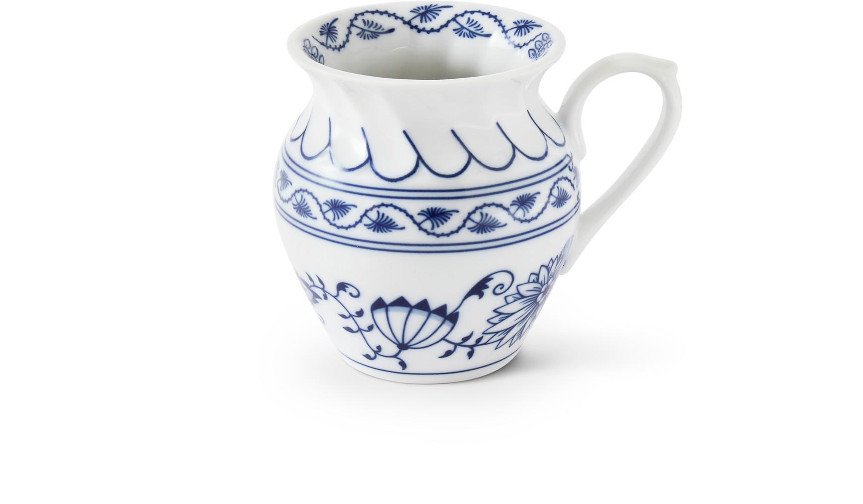 "Mug 0,25 l ""ALBA"" Blue onion china"