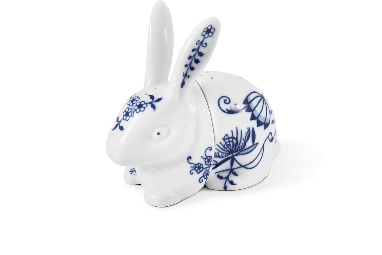 Shaker rabbit Blue onion china