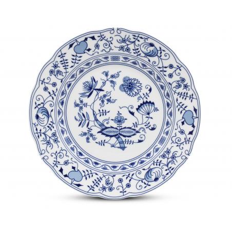 Flat plate 25 cm Blue onion...