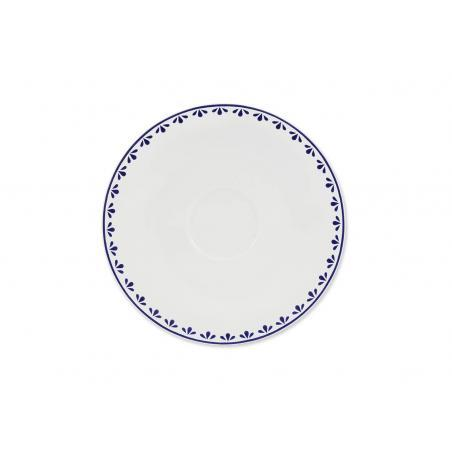 Saucer with the pattern 2...