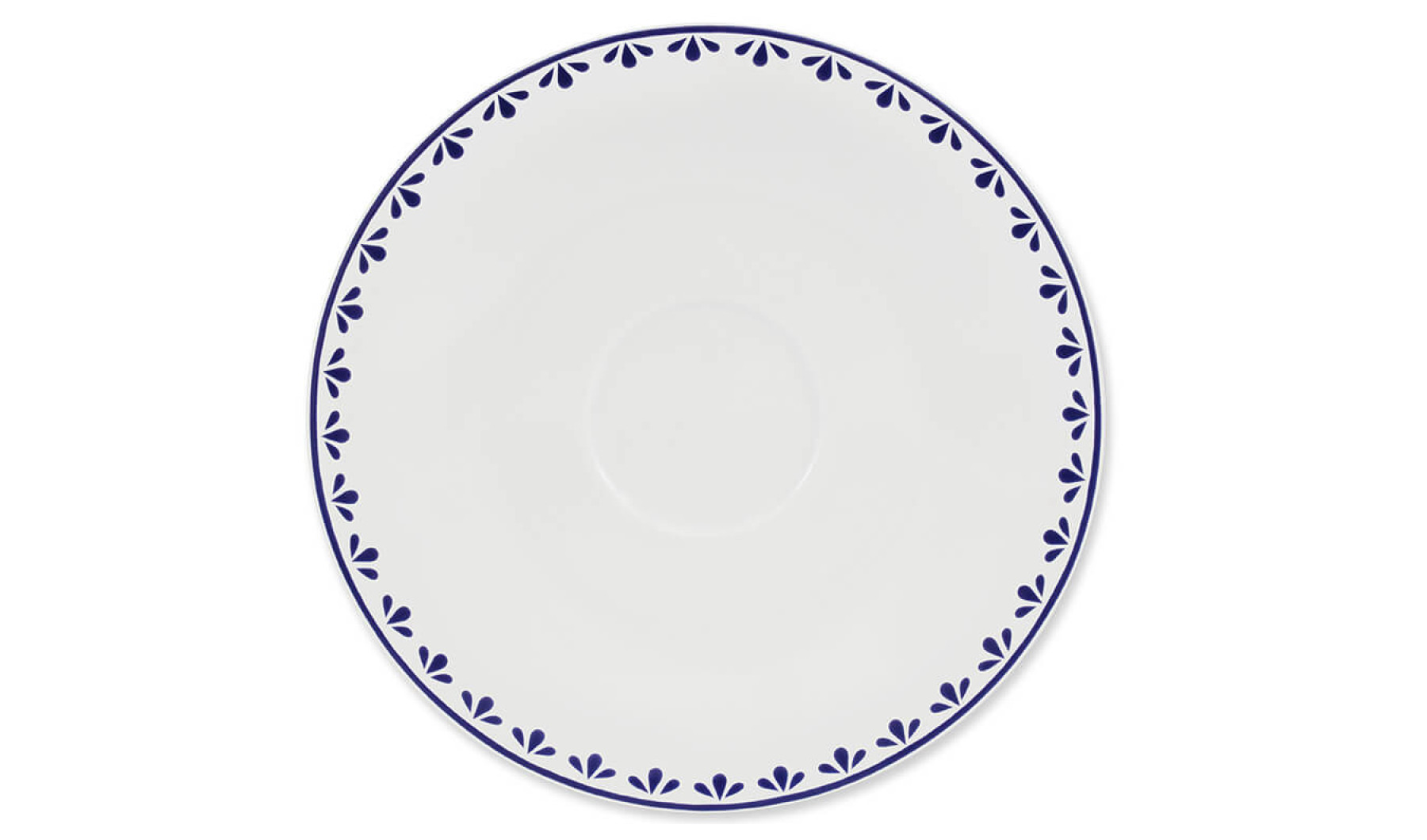 Saucer with the pattern 2 HyggeLine