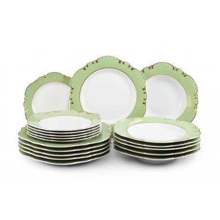 Plate set 18-piece -...