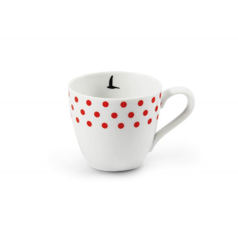 Šálek na espresso 0,07l BeFree puntíkatý