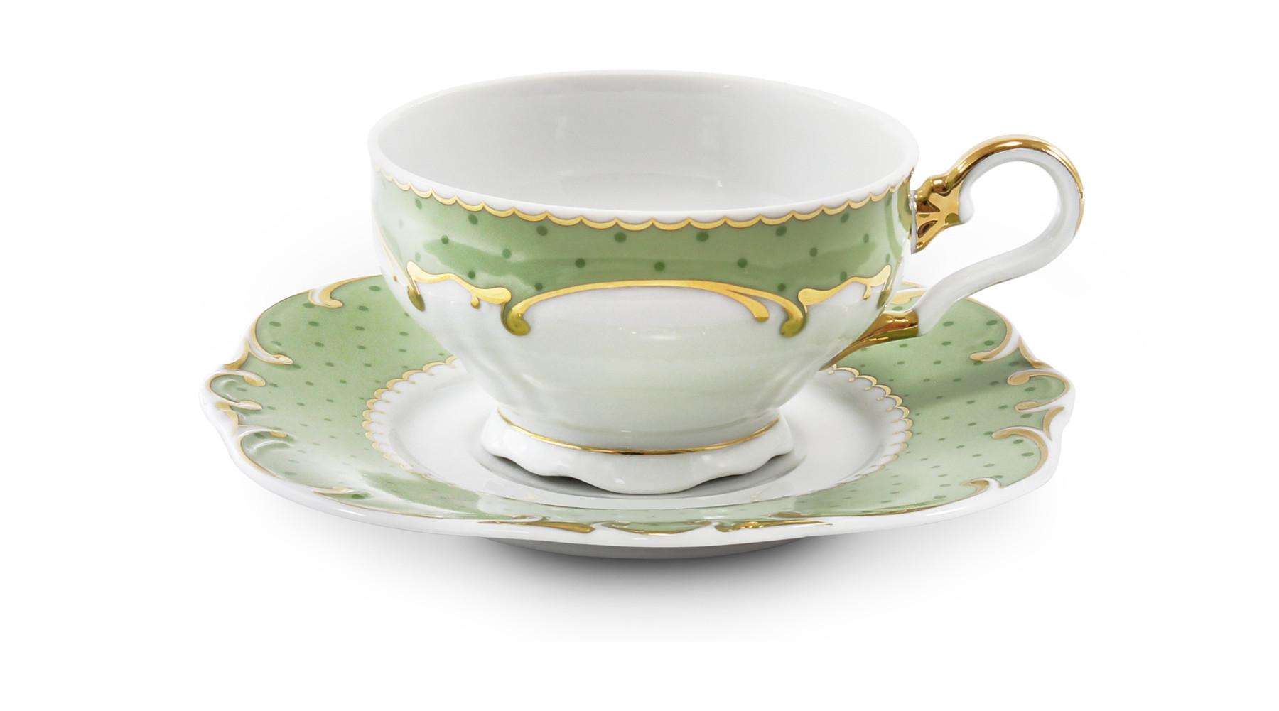 Tasse mit Untertasse Antonia dot