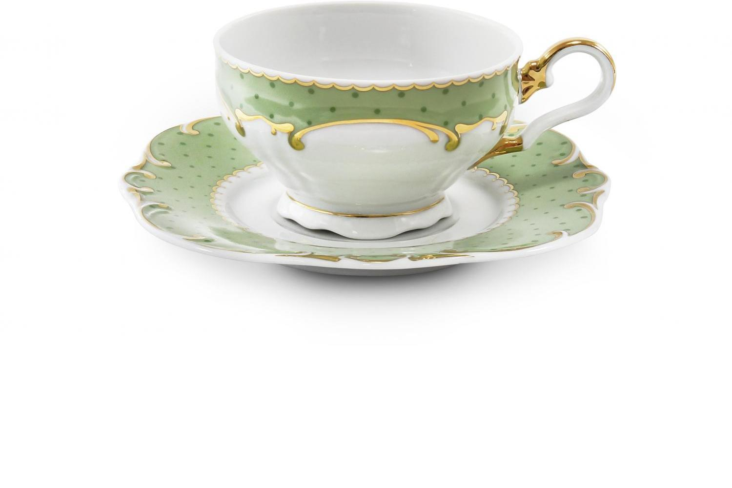 Cup and saucer Antonie dot