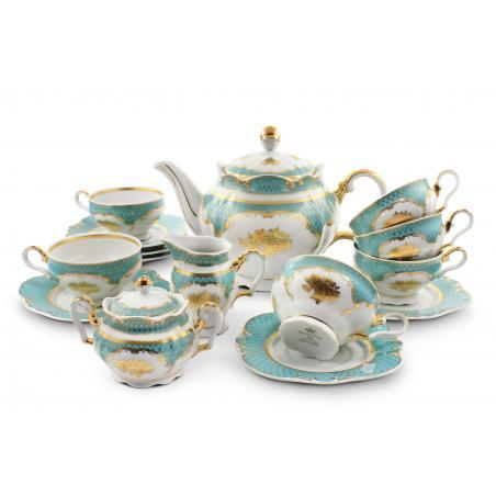 Tea set 15-piece - Roses...