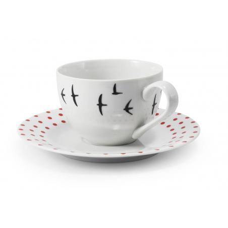 Tasse mit Untertasse BeFree...