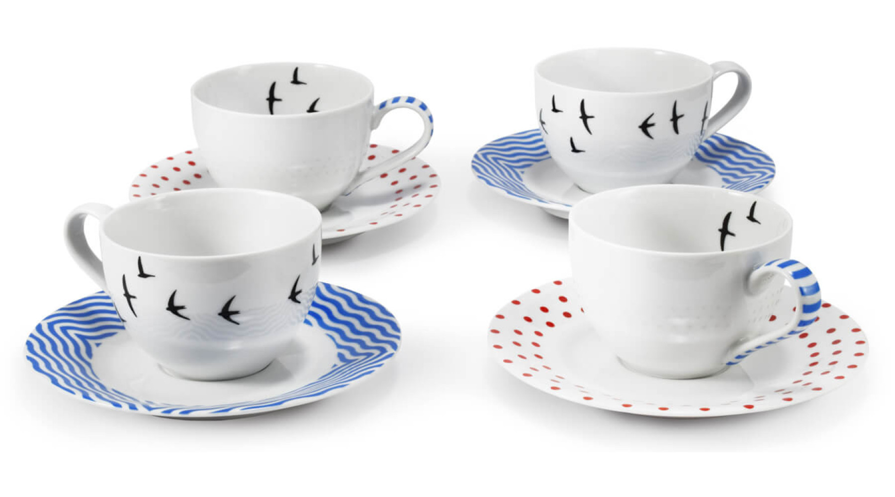 A set of cups and saucers BeFree