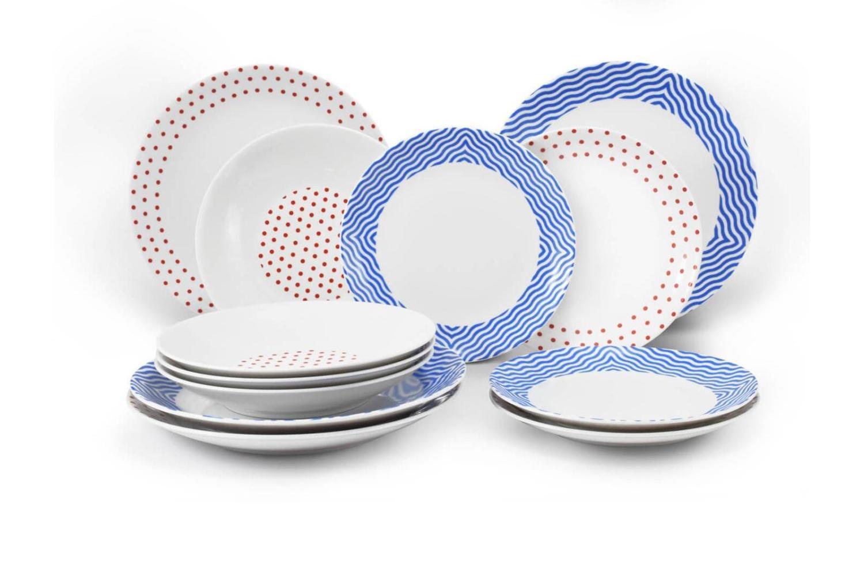 Plate set 12-piece BeFree