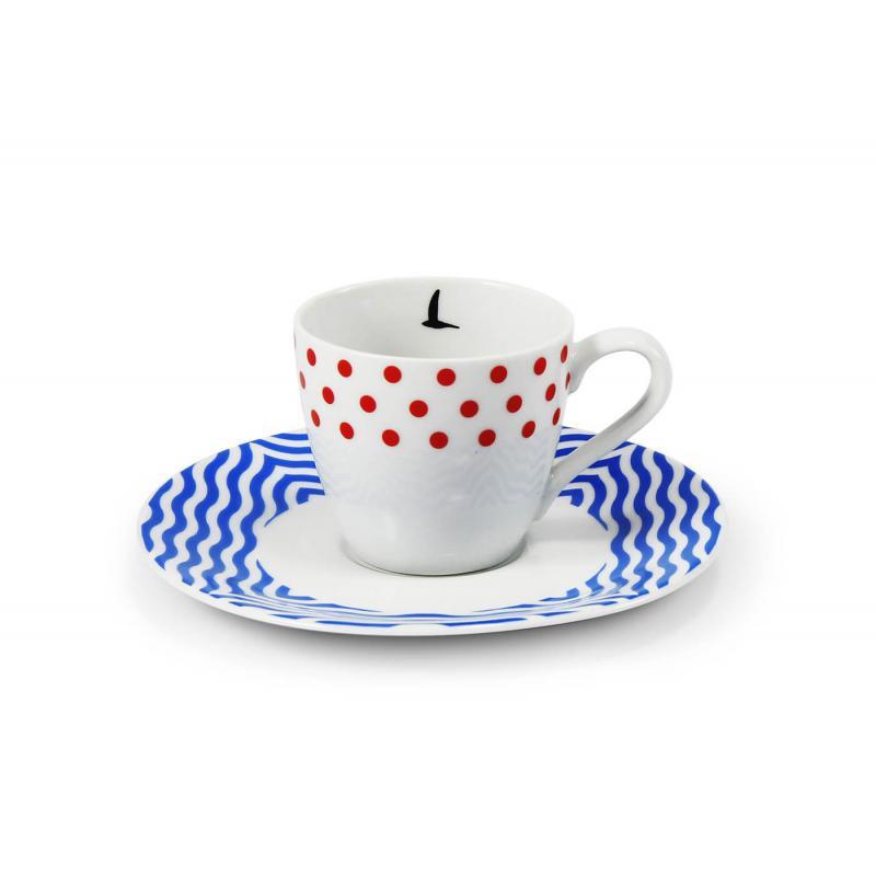 Šálek s podšálkem na espresso 0,07 l BeFree var.1