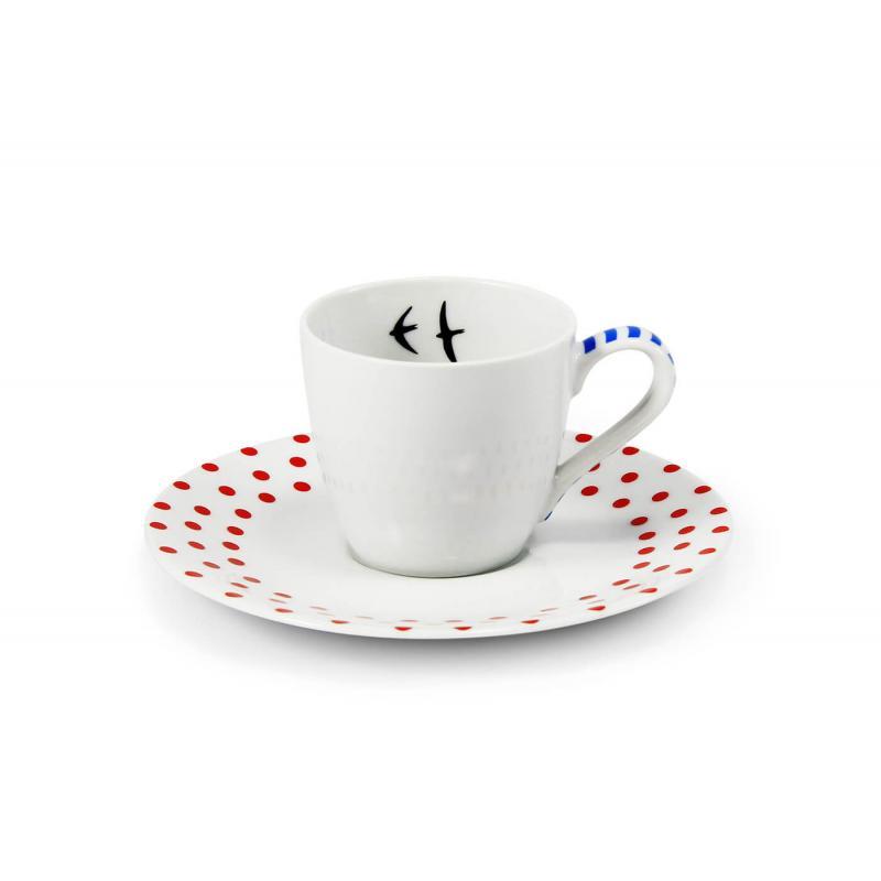 Šálek s podšálkem na espresso 0,07 l BeFree var.2