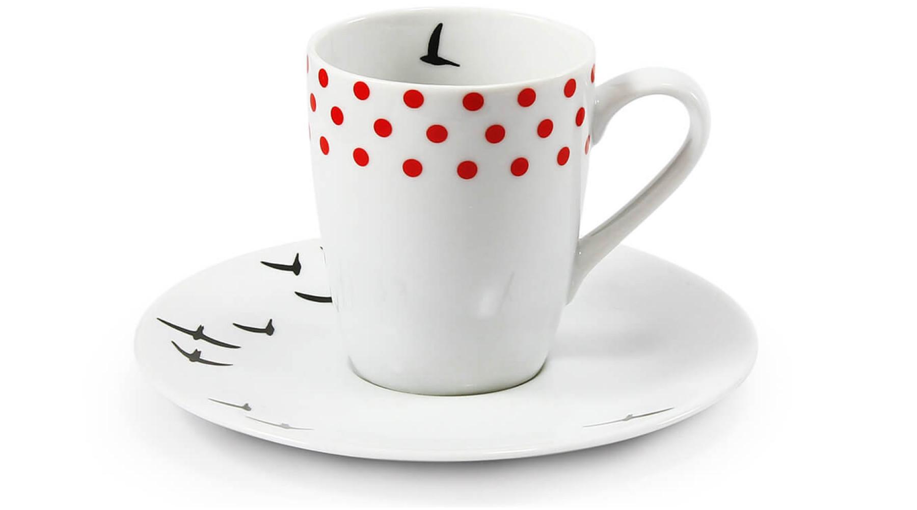 Tasse mit Untertasse für Espresso  0,09l BeFree
