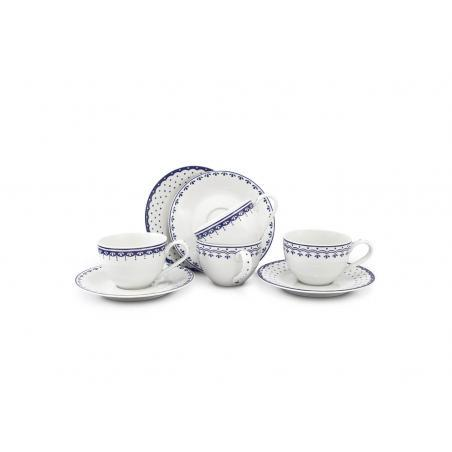 A set of cups and saucers...
