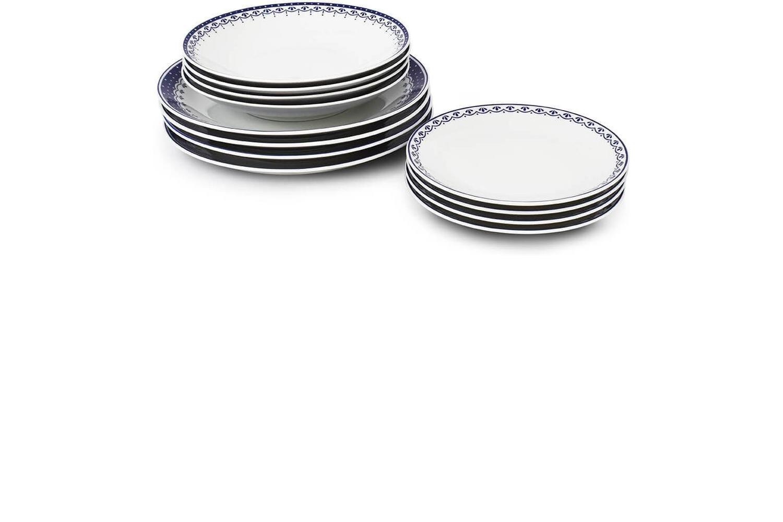 Plate set 12-piece HyggeLine