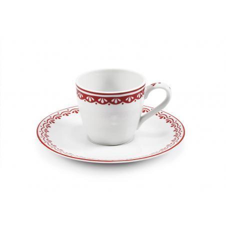 Šálek s podšálkem na espresso  0,07l HyggeLine