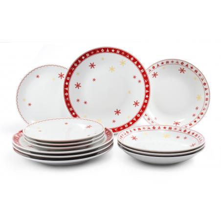 Plate set 12-piece...