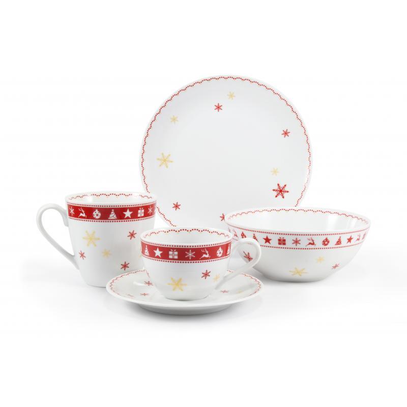 Snídaňová souprava 5-dílná Vánoční snění