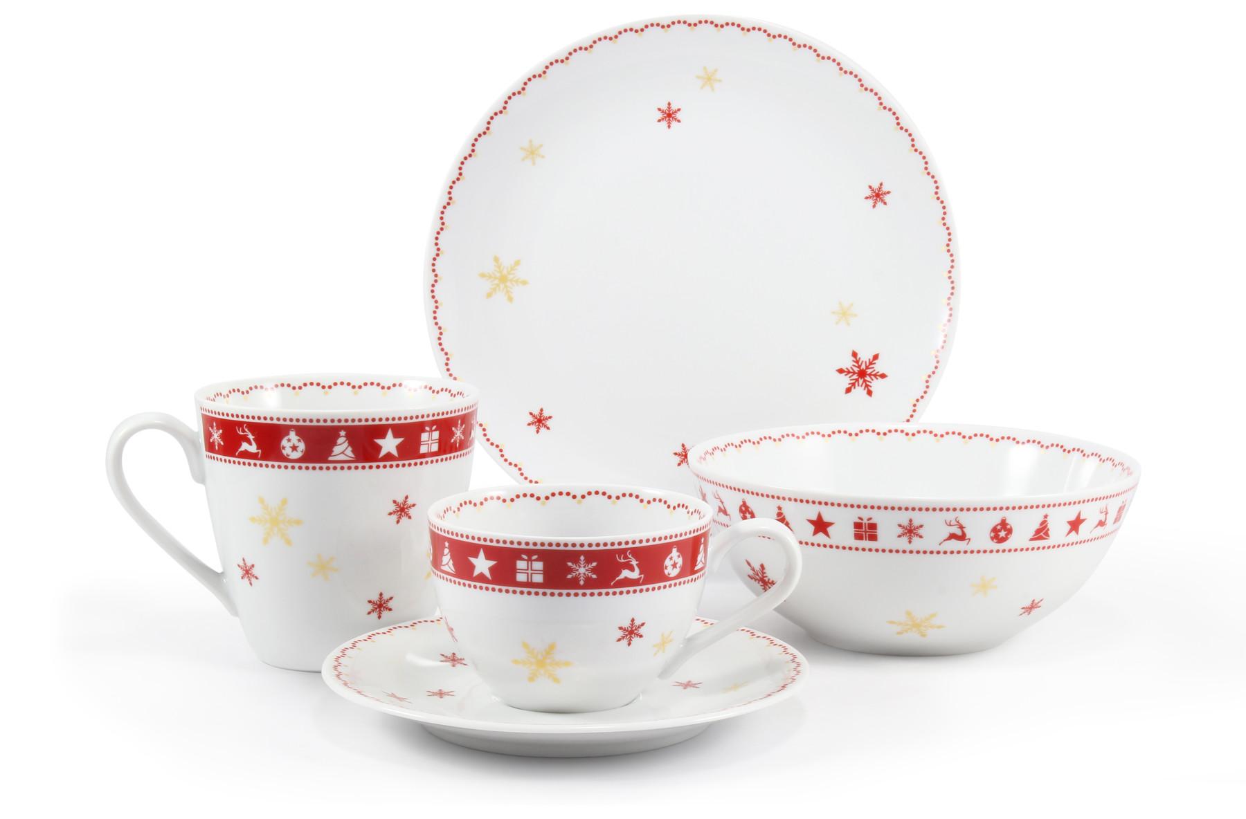 Breakfast set 5-piece Christmas dreaming