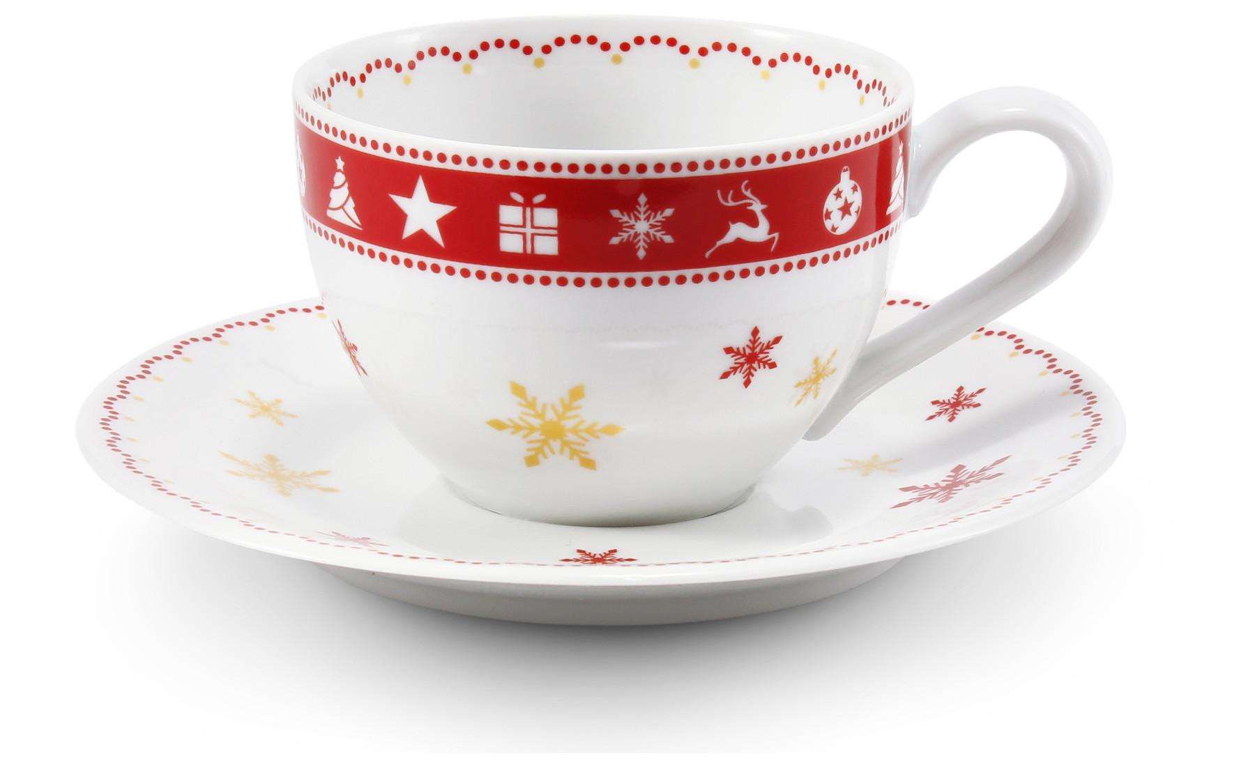 Šálek s podšálkem 0,20 l Vánoční snění