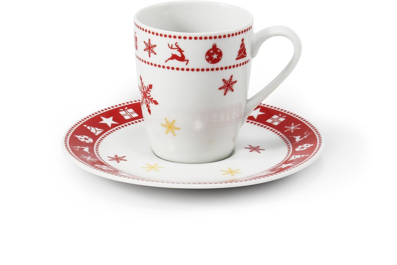 Šálek s podšálkem 0.09 l- espresso Vánoční snění