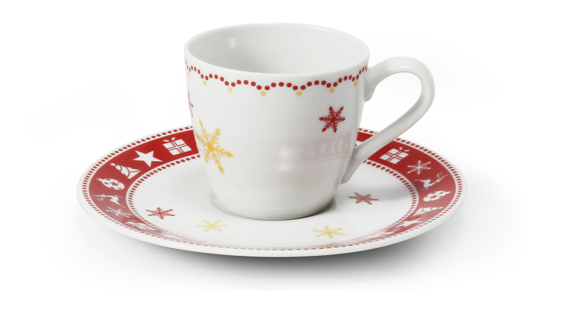 Šálek s podšálkem 0.07l - espresso Vánoční snění