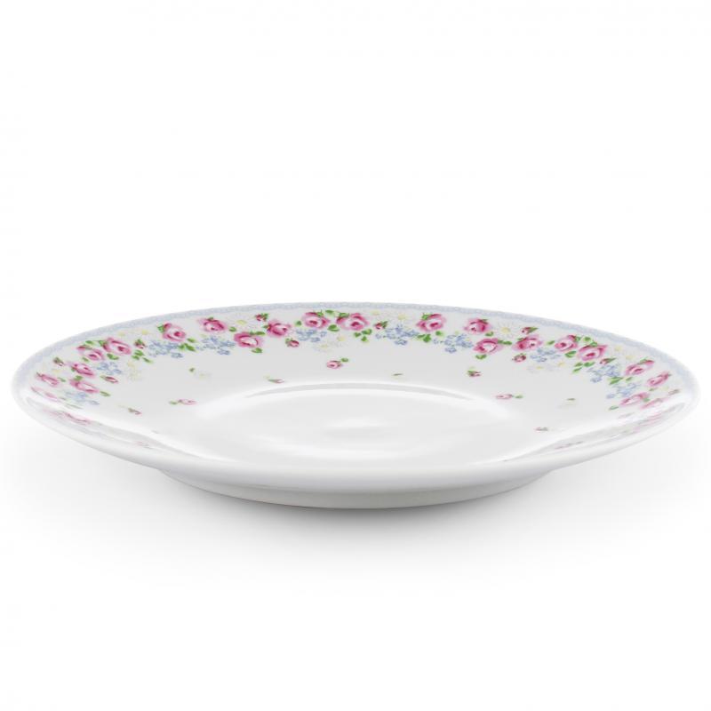 Plate flat RoseLine