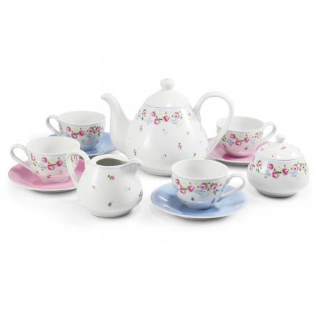 Tea set 11-piece RoseLine