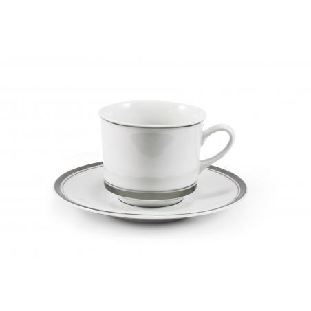 Cup and saucer- Sabina with...