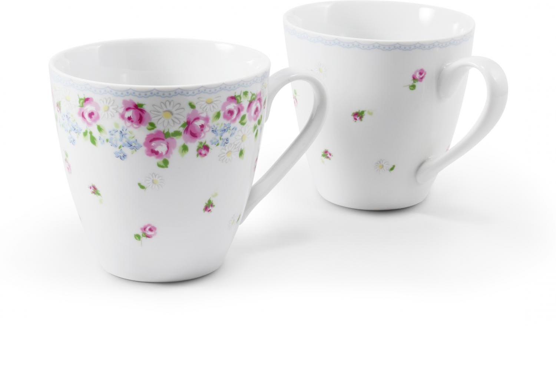 Set mit zwei Tassen RoseLine