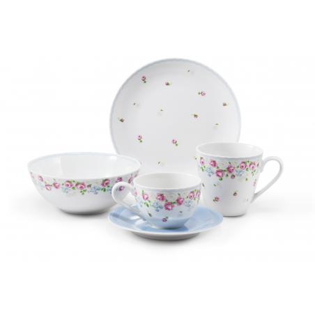 Breakfast set 5-piece RoseLine