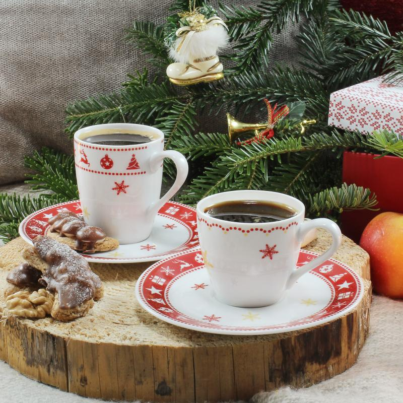 Espresso cup and mug 0.07l Christmas dreaming
