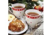 Set mit zwei Teetassen Weihnachtsträume