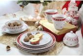 Tellerset 12-teilig Weihnachtsträume