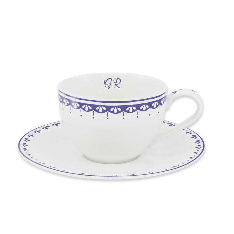 Cup and mug with the pattern 2 HyggeLine