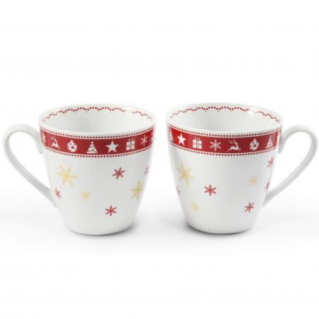 A set of 2 mugs Christmas...