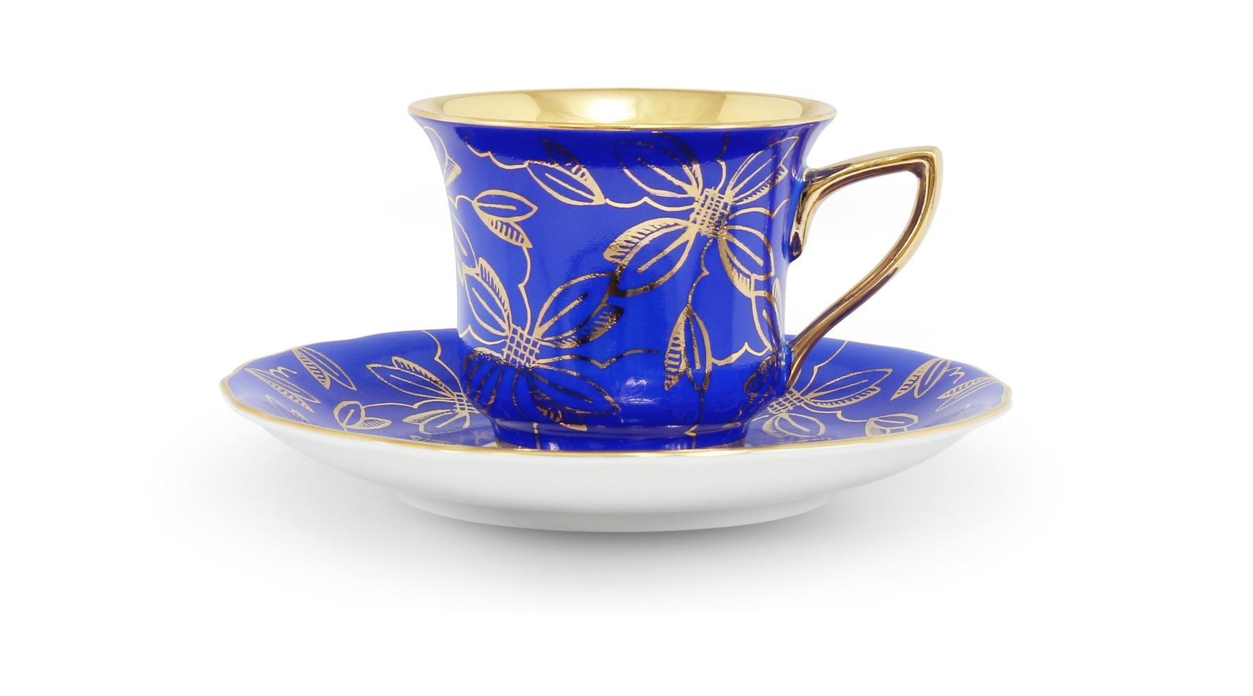 Cup and saucer 0,10 l Windsor /411