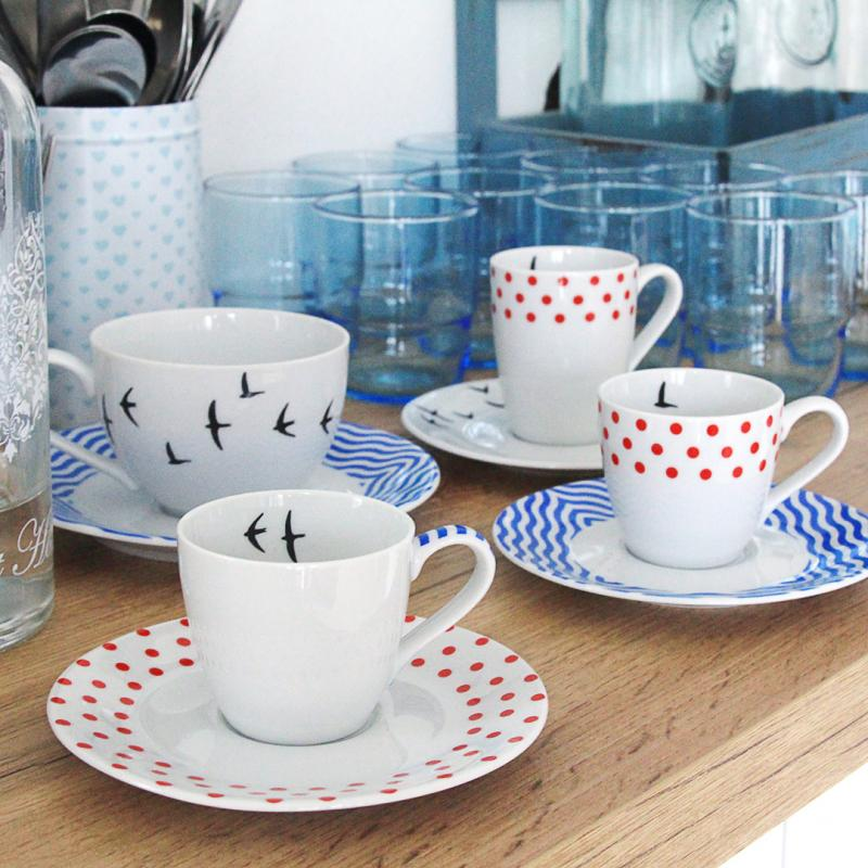 Espresso cup and saucer 0,09l BeFree