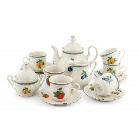 Tea set 15-piece - Fruit