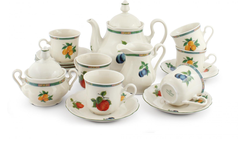 Tea set 15-piece - Fruit