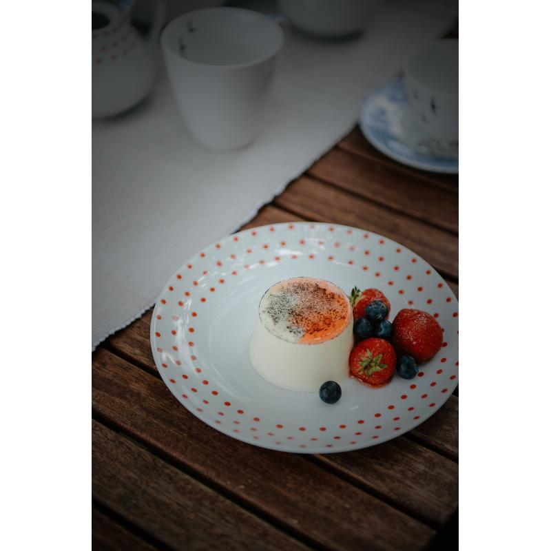 Dessert plate BeFree dotted