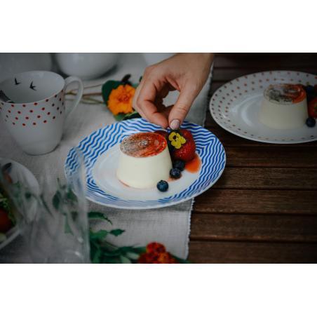 Mělký talíř BeFree modrý