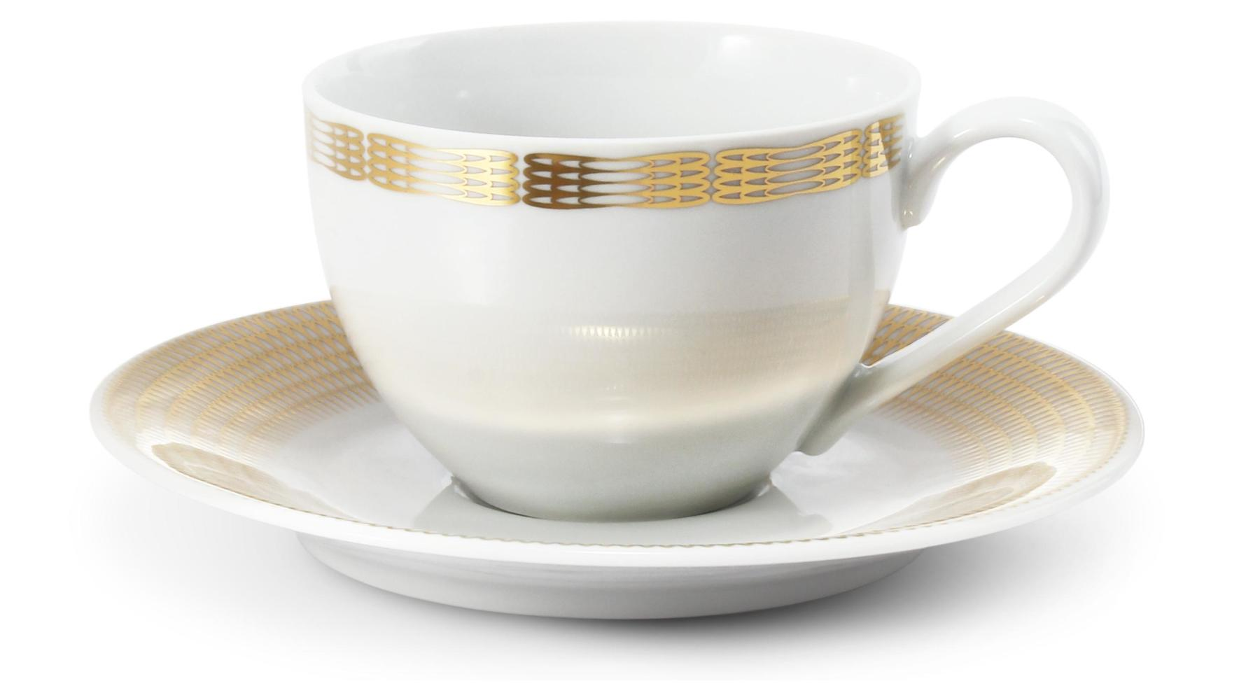 Cup and mug 0.20l Golden angel wings