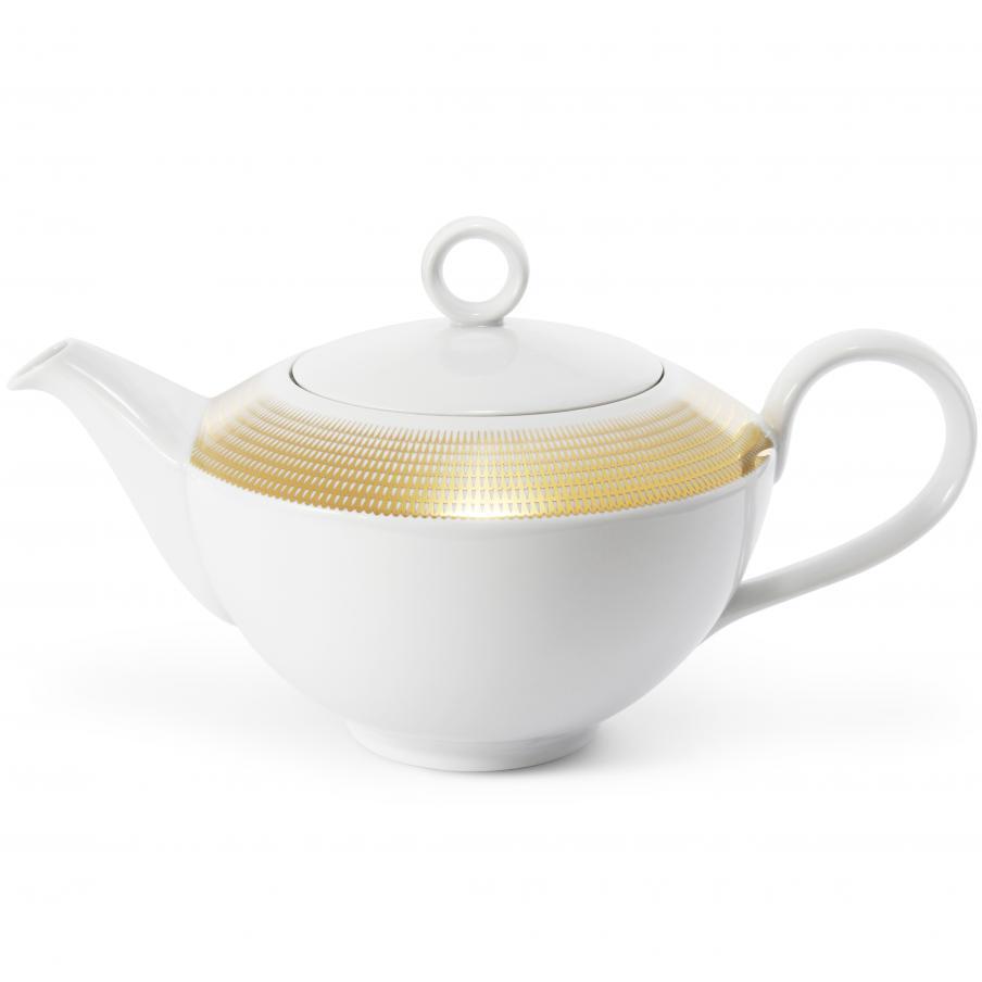 Tee/Kaffeekanne Goldene...