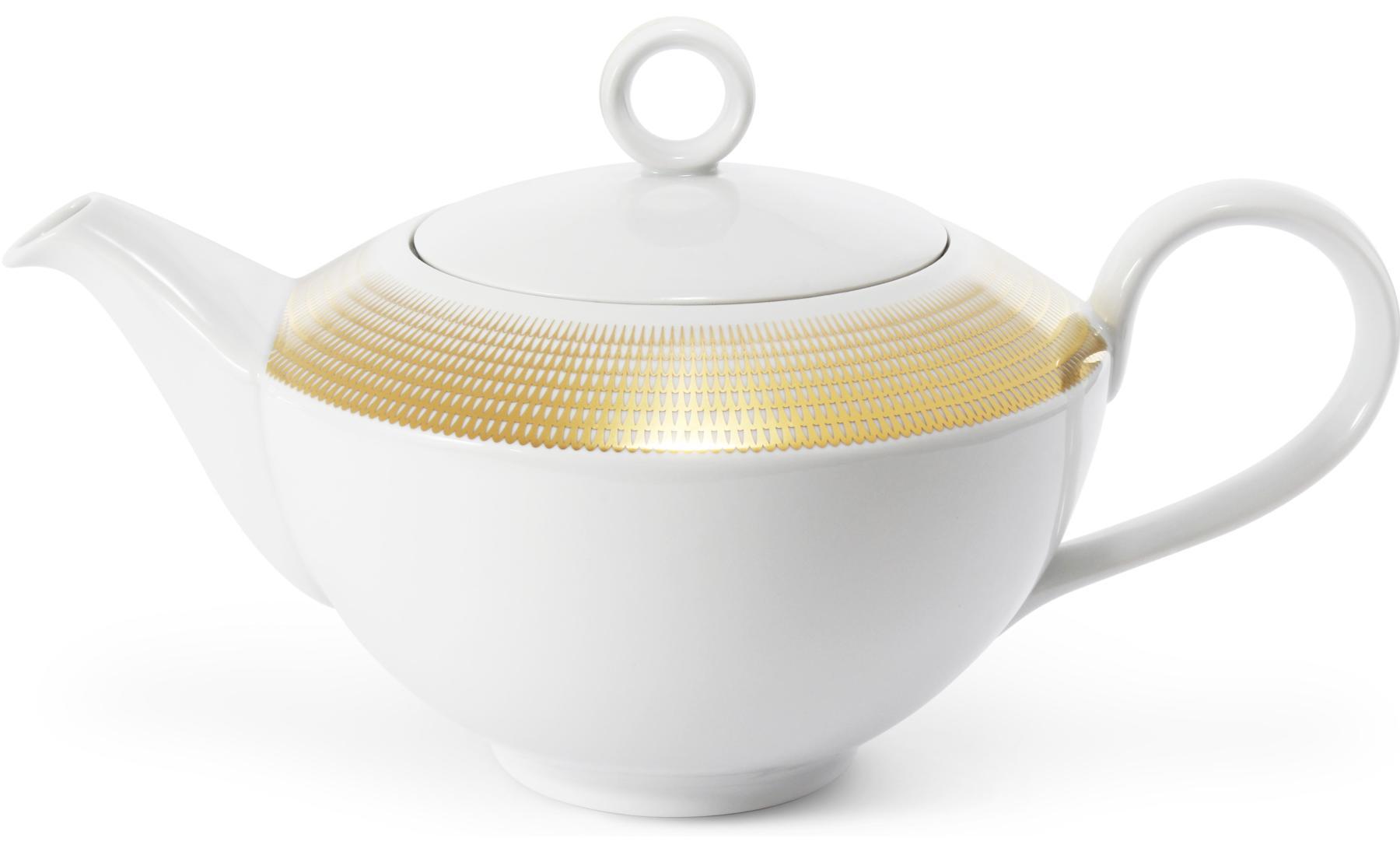 Tee/Kaffeekanne Goldene Engelsflügel