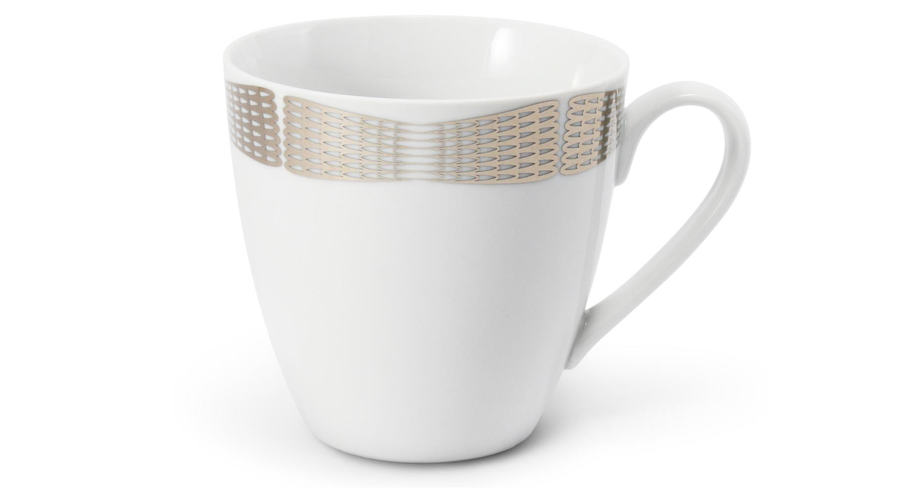 Tasse 0,3l Silberne Engelsflügel
