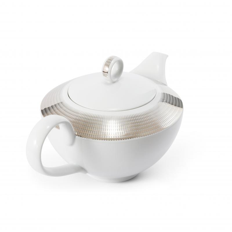 Tee/Kaffeekanne 1,5 l Silberne Engelsflügel