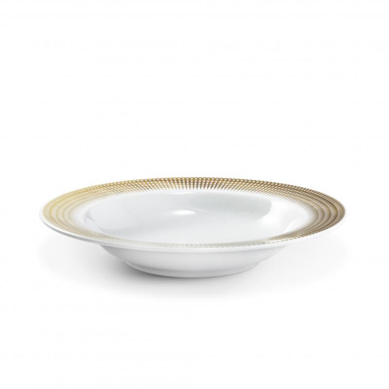 Hluboký talíř ø22 cm Zlatá andělská křídla